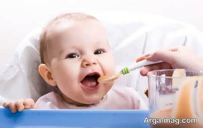 راهنمای تغذیه نوزاد 5 ماهه