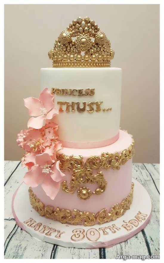 طراحی شگفت انگیز کیک تولد پرنسسی