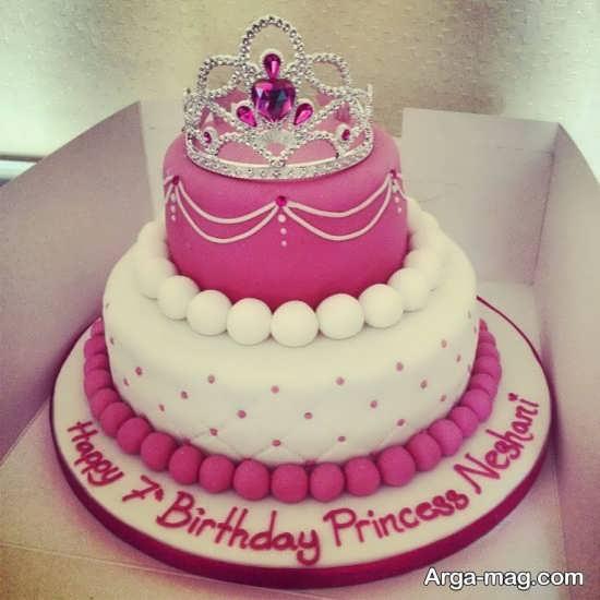 ایده جدید برای کیک تولد با تاج