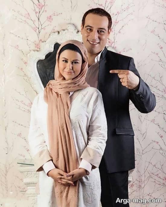 عکس های زیبای یاسمینا باهر و همسرش