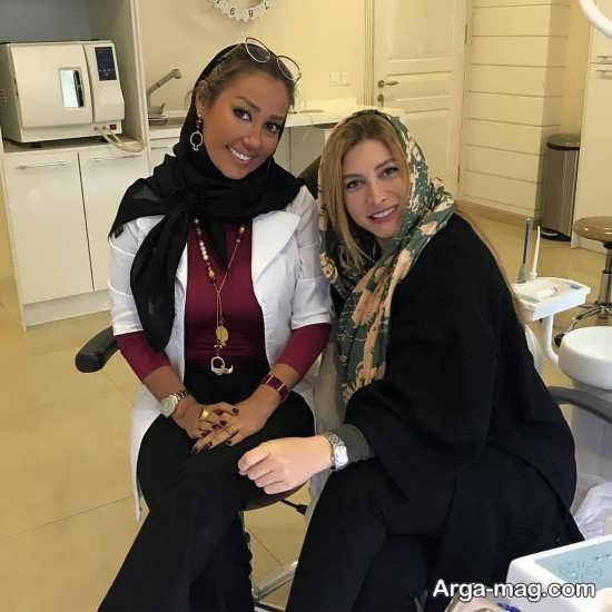 فریبا نادری و دکترش