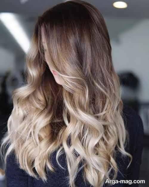 رنگ مو آمبره جدید