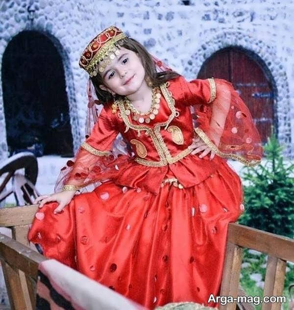 مدلهای لباس آذری دخترانه