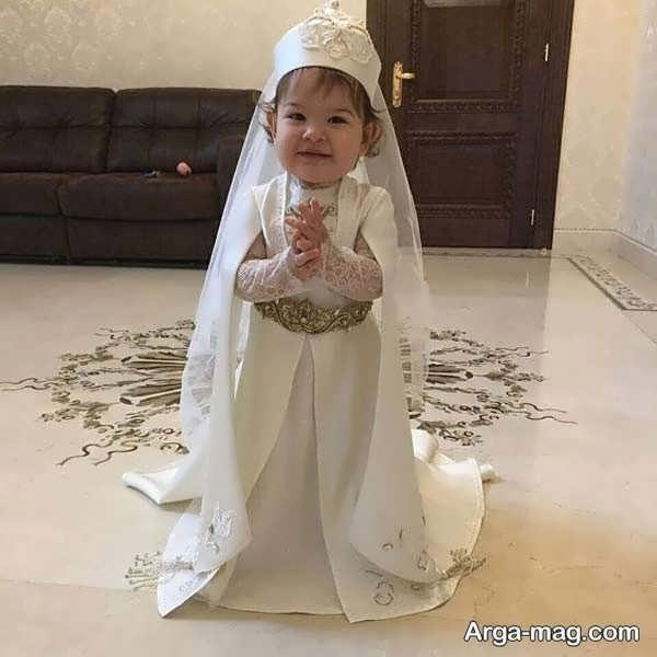 لباس آذری دختربچه