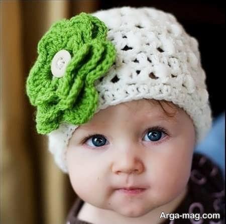 مدل کلاه بافتنی جدید بچه گانه