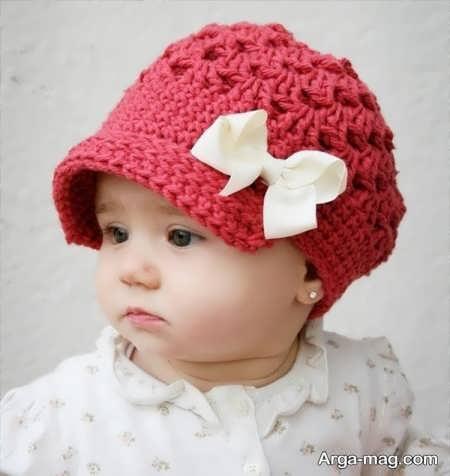 مدل کلاه بافتنی دوست داشتنی بچه گانه