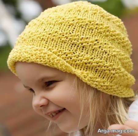 مدل بافت کلاه زیبا برای بچه ها