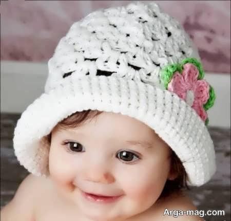 مدل بافت کلاه جذاب برای بچه ها