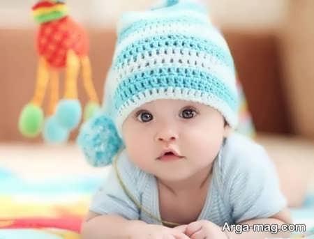 مدل بافت کلاه دیدنی برای بچه ها
