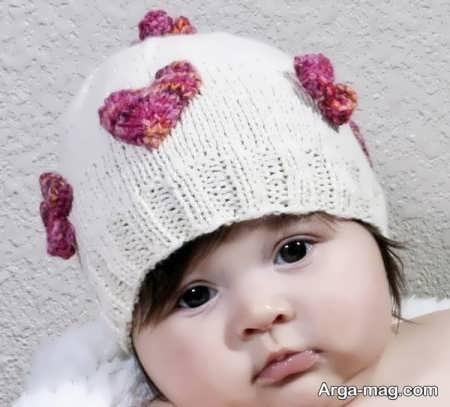 مدل بافت کلاه ایده آل برای بچه ها