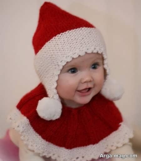 مدل بافت کلاه بی نظیر برای بچه ها