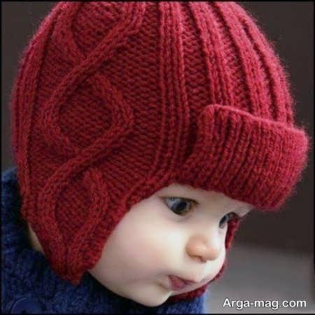 شیک ترین بافت کلاه بچه گانه