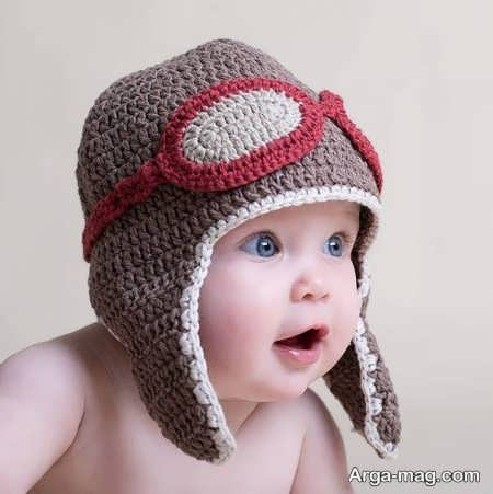 مدل کلاه بافتنی شیک بچه گانه