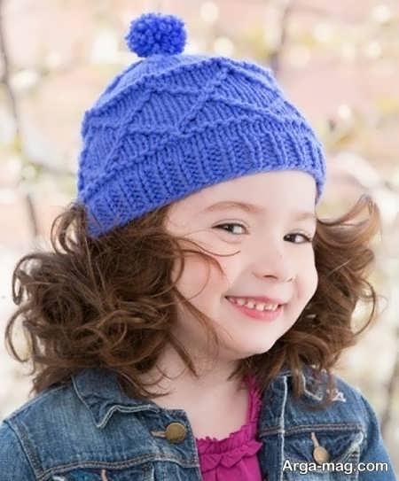 مدل کلاه بافتنی خاص بچه گانه