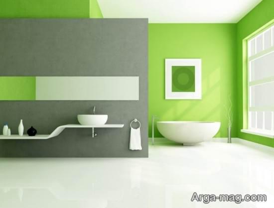 طراحی ساده و شیک برای حمام