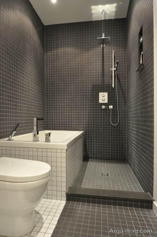 طراحی دکور برای حمام کوچک