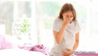 علت تلخ شدن دهان در بارداری