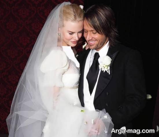 زیباترین ژست عروس و داماد