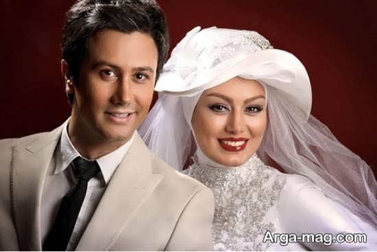 ژست زیبا و خاص عروس و داماد