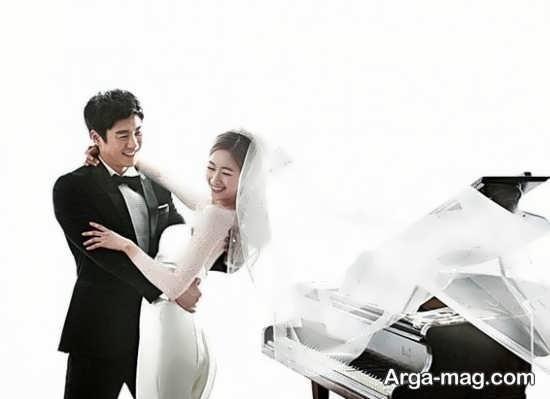 ژست عروس و داماد کره ای