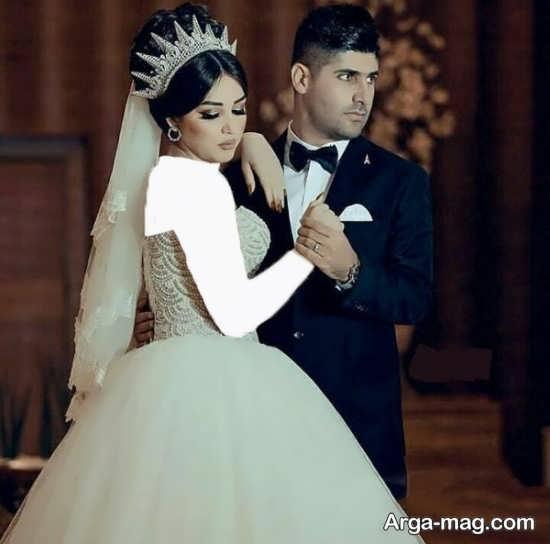 ژست های عروس و داماد در آتلیه عکاسی