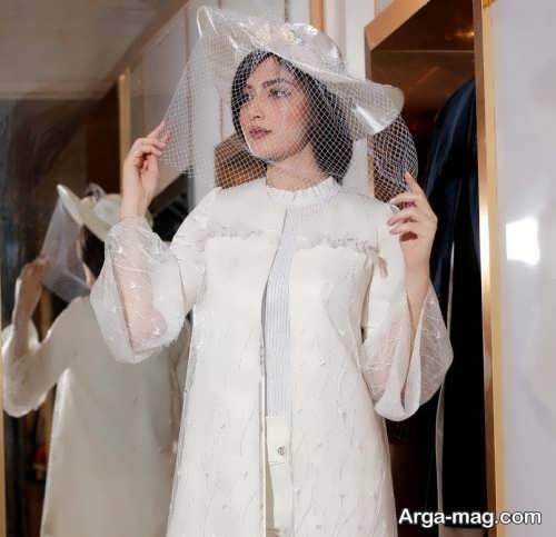 جذاب ترین مدل مانتو عروس