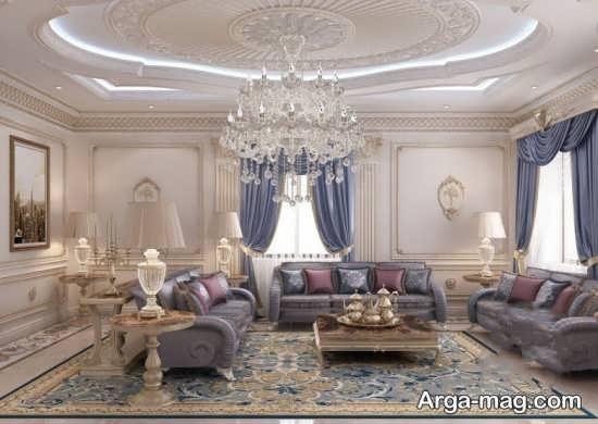 طراحی داخلی کلاسیک در خانه های امروزی