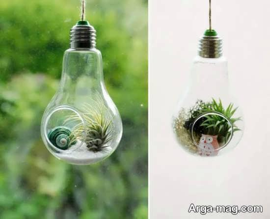 روش هایی برای ساخت کاردستی با لامپ
