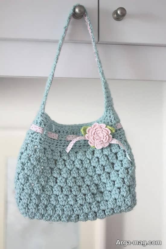 کیف بافتنی دخترانه