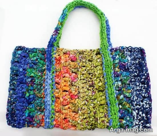 کیف بافتنی زنانه و دخترانه