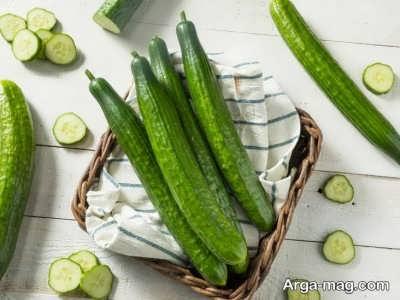 خوراکی هایی که می توان همراه با خیار مصرف کرد