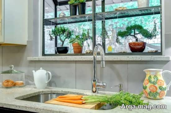 گلخانه در آشپزخانه