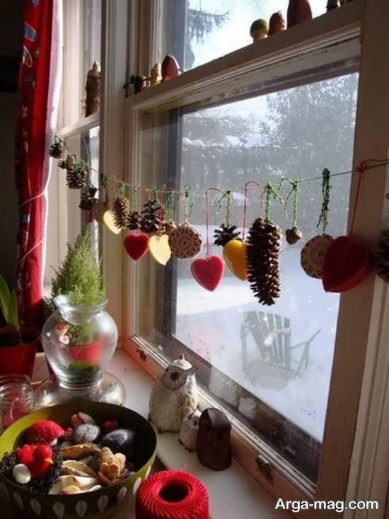 تزیین پنجره آشپزخانه