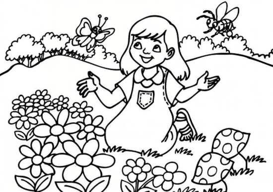 نقاشی چهار فصل با طرح های ساده و زیبا برای کودکان