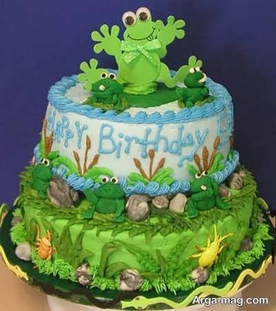 جمله خنده دار روی کیک تولد