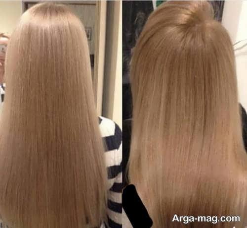 رنگ موی زنانه سامبره