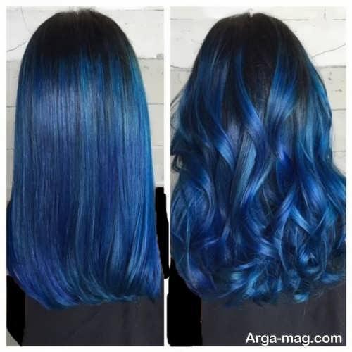رنگ موی زیبا و شیک سامبره