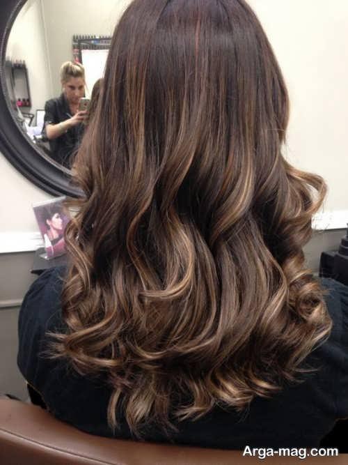 مدل رنگ موی زیبا و جذاب سامبره