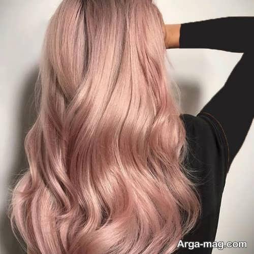 رنگ موی شیک و جذاب سامبره