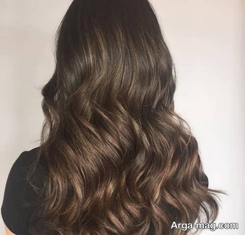 رنگ موی تیره و جذاب سامبره