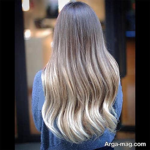 مدل رنگ موی روشن سامبره