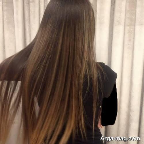 مدل رنگ موی تیره سامبره