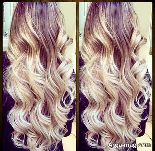 رنگ موی سامبره زیبا و شیک