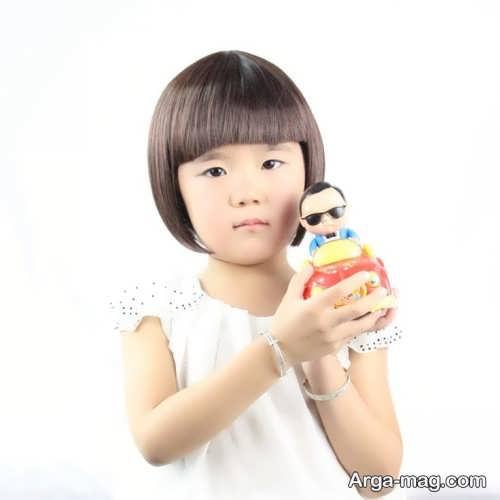 مدل مو بچه گانه کره ای