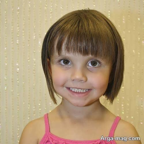 مدل موی زیبا و کوتاه دخترانه