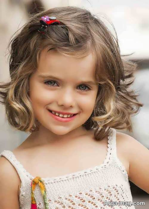 مدل موی بچه گانه شیک دخترانه