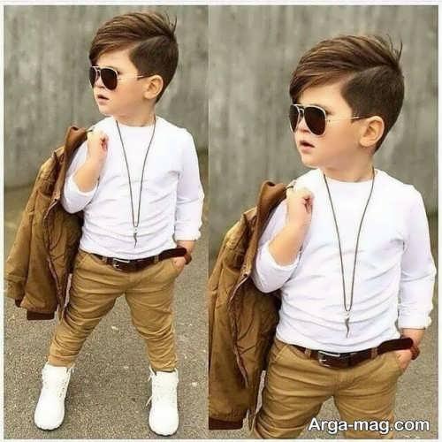 مدل موی پسرانه بچه گانه