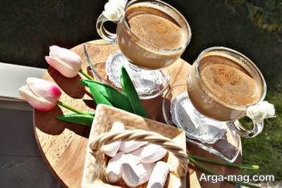 آموزش تهیه قهوه با شیر