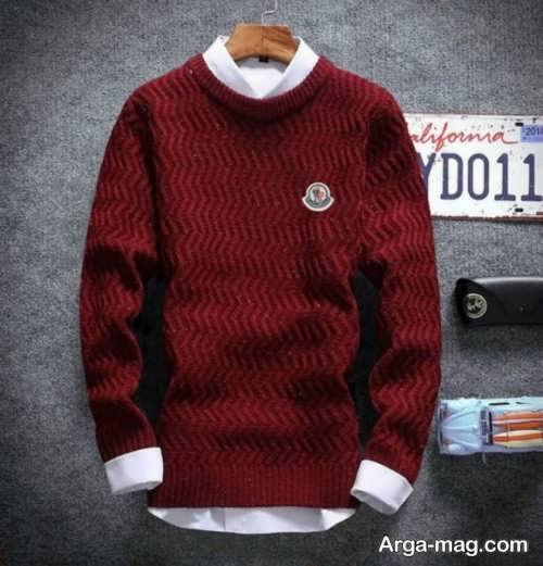 مدل ژاکت سده و شیک پسرانه قرمز
