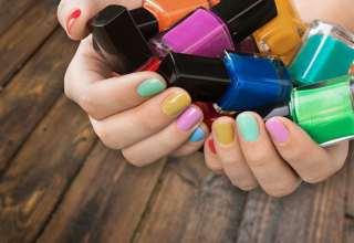راهنمای انتخاب رنگ لاک برای پوست ها با رنگ مختلف